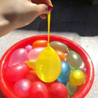 111 pcs Magic Rubbers Water Balloons Bombs Kids Garden Party Toys for Summer