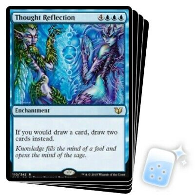 Thought Reflection X4 M/NM Magic: The Gathering MTG Commander 2015