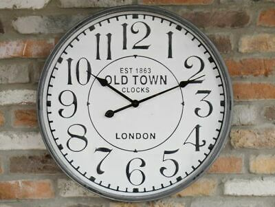 Old Town Vintage Style Wall Clock