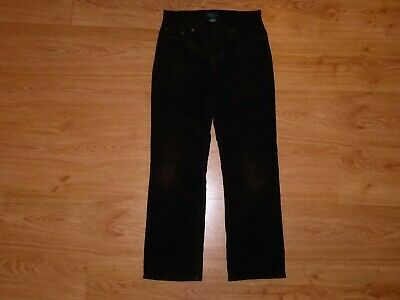 Boy's Ralph Lauren Brown 5-Pocket Zip Fly Cotton Corduroy Trousers Age 12 Years