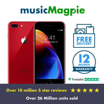 Apple iPhone 8 Plus 64GB 256GB (PRODUCT)RED Unlocked SIM Free LTE Smartphone