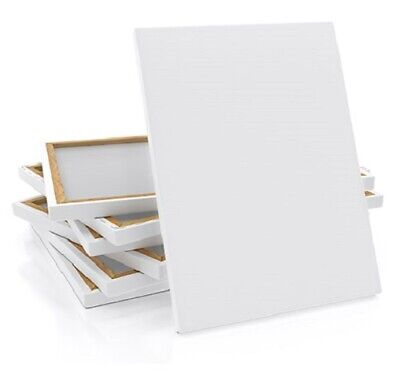 Large Ascot Canvas, Blank, Stretched & Triple Gesso Primed, Thin & Deep Edge