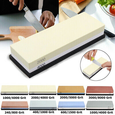 High Quality Dual Whetstone Double Sided Sharpener Kitchen Tool Grit Wet Stone