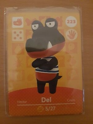 animal crossing new leaf welcome  amiibo card del 223