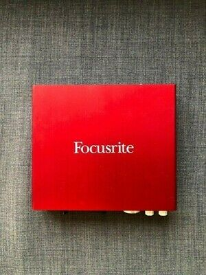 Focusrite Scarlett 6i6 USB Audio Interface 2nd Generation