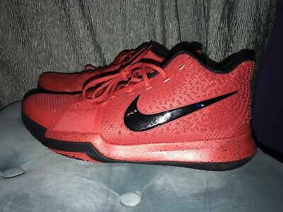 check out e5f45 808c2 NIKE KYRIE 3 Three Point Contest Candy Apple Red Basketball 852395-600 Size  14