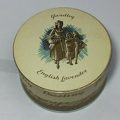 Vintage YARDLEY English Lavender Perfumed Dusting Powder 5 oz. Unopened 1962