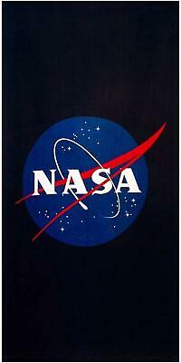 Official NASA Logo Beach Towel Bath Holiday Swimming Space