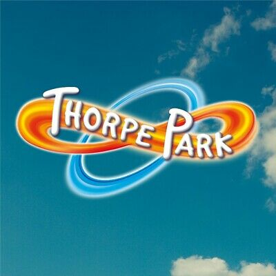 Thorpe Park Tickets X2 For Thursday 8th August 2019