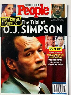 The Trial Of OJ Simpson Magazine 8/2019 People Special Edition