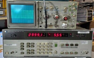 Hewlett Packard Agilent HP 8903A Audio Analyzer 20Hz-100KHz - OPT 001 Tested