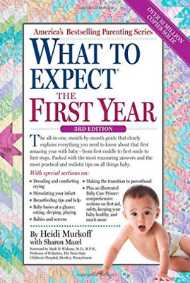 Murkoff, Heidi Eisenberg/ M...-What To Expect The First Year BOOK NEW