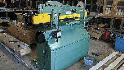 NEW Piranha P65 Ironworker-  220/240 volts. (Not three phase)