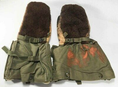 Vintage Army Marines Military Winter Mittens Gloves WWII or Korean War Era?