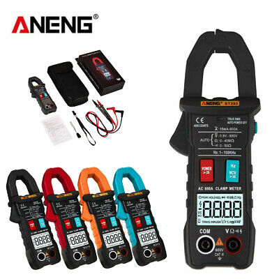 ANENG ST203 LCD 4000 Counts Clamp Multimeter AC/DC Current Voltage Tester Meter