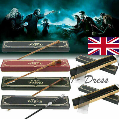 HARRY POTTER Wand With Metal Core Over 55 Different Designs In Box Film Replica