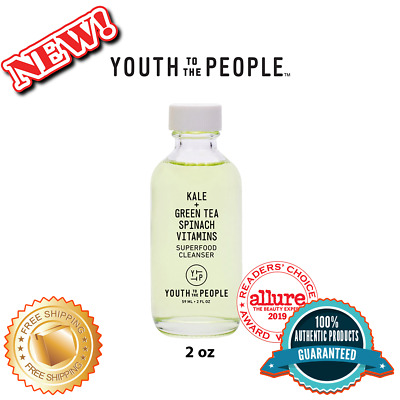 YOUTH TO THE PEOPLE Superfood Antioxidant Cleanser Mini, 100% Authentic (2 oz)