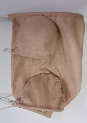 "REBORN DOLL BODY 19"" 3/4 LIMBS (Doe Suede). BB body"