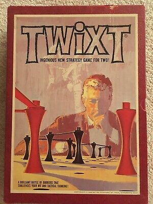 Vintage TWIXT 1962 Board Game 3M Bookshelf Strategy Game Great Condition