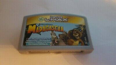 Leapster Leap Frog L Max Madagascar Game Fast shipping Great Game for kids!