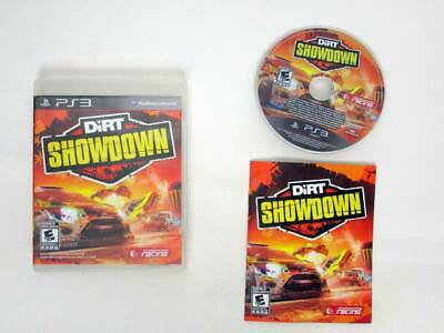 Dirt Showdown game for Sony PlayStation 3 -Complete