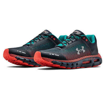 Under Armour Mens HOVR Infinite Running Shoes Trainers - Blue Grey Orange Sports