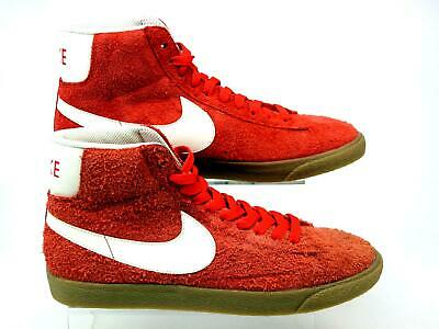 Details about Nike Blazer red Hi Tops men UK SIZE 5.5 Suede great condition padded heelankle