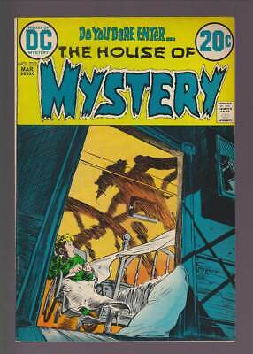 House of Mystery # 212  Ever After ! Kaluta cover ! grade 8.5 scarce book !