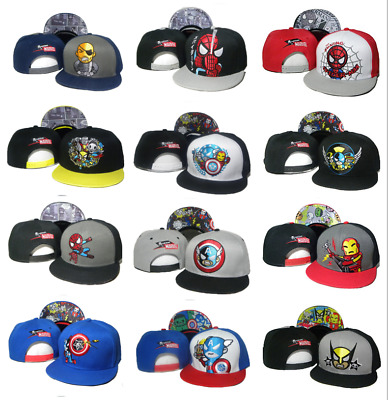 7772cce0 Avengers Endgame Suerheroes cotton cap Adjustable snapback baseball hat  Ironman