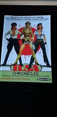 Ilsa She Wolf Of The Ss Book Chronicles Rare Excellent Glossy Dyanne Thorne