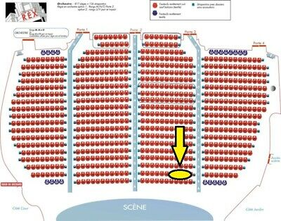 "Madonna Madame X Tour Paris 01/03/2020 Rang ""C""  >>> Seconda Fila <<<"