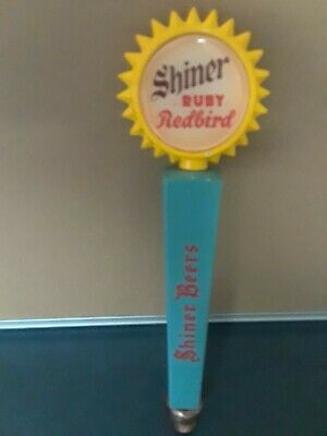 Shiner - Ruby Redbird Shiner Beers Collectible Beer Tap Handle Home Bar Decor