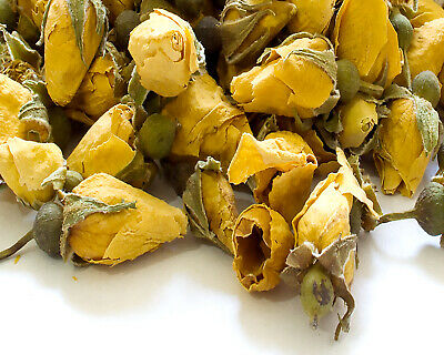 Dried Yellow Rose Buds Resin Tea making Bath Bomb Candle Soap Wedding Confetti