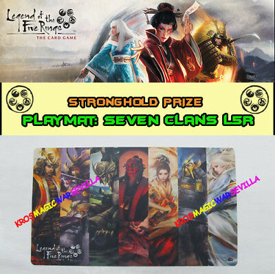 LEGEND OF THE FIVE RINGS LCG - Playmat Seven Clans FFG Promo Stronghold Kit
