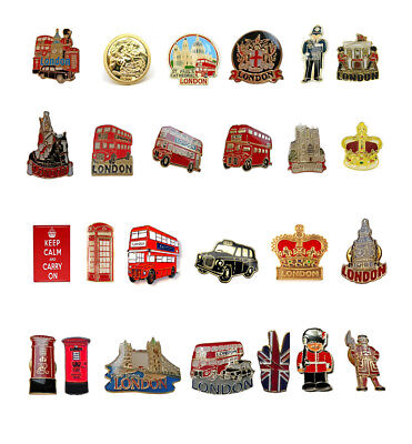 London Souvenir Icons Enamel Lapel Pin Badge Novelty Collectable Gift Jewellery