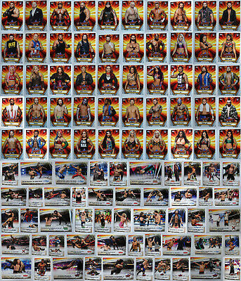2019 Topps WWE SummerSlam Wrestling Cards Complete Your Set You Pick 1-100