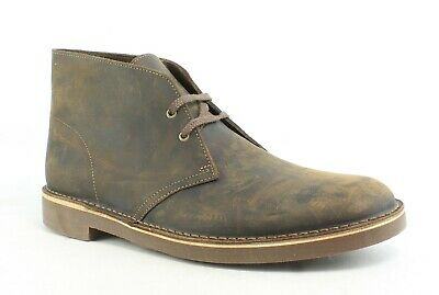 930def46f5b CLARKS MENS BUSHACRE 2 Beeswax Ankle Boots Size 10.5 (195088 ...