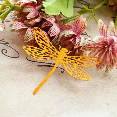 Dragonfly Metal Cutting Dies Stencil Scrapbooking Card Paper Embossing CrafF Th