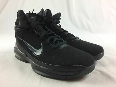 NEW NIKE AIR Max Tall Black Basketball Shoes (Men's Size