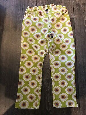 Girls Mini Boden Cropped Trousers Age 12 Years Excellent Condition