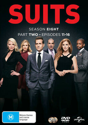 Suits: Season 8 - Part 2  - DVD - NEW Region 2, 4