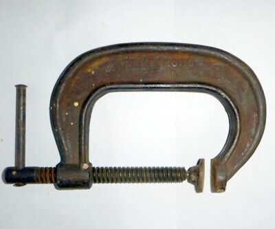 Vintage C Clamp Armstrong #403 Drop Forged