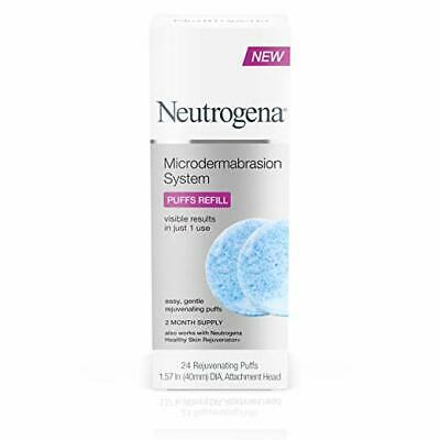 Neutrogena Microdermabrasion System Puff Refills, 24 Count