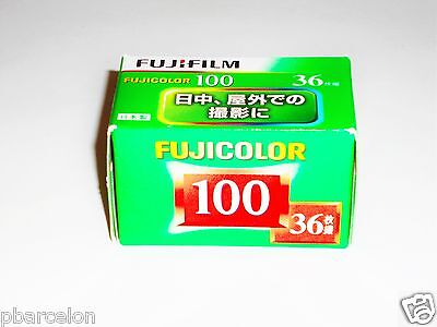 1 x Roll FUJICOLOR 100 COLOUR NEG Film--35mm/36 exps--FRESH--expiry: 07/2020