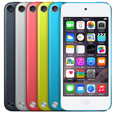 iPod Touch 5th generation 16gb 32gb Blue Yellow Pink Space Gray Silver
