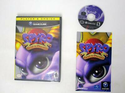 Spyro Enter the Dragonfly game for Nintendo GameCube -Complete