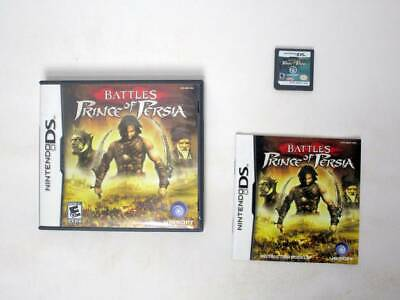 Battles of Prince of Persia game for Nintendo DS -Complete