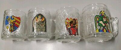 Walt Disney Hunchback of Notre Dame (1996) Vintage Glasses (Beer Mugs)