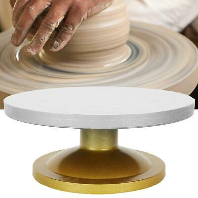 30/33cm Pottery Banding Wheel Metal Turntable Turnplate Clay Sculpture Modelling