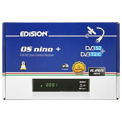 Edision OS NINO + WIFI S2/T2/C BLuetooth HEVC265 OCCASIONE
